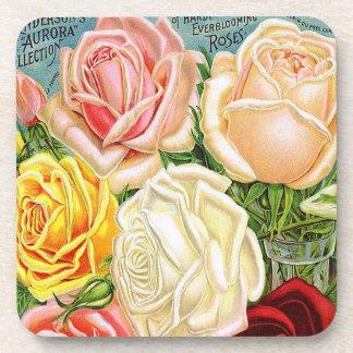 Vintage Roses Coaster