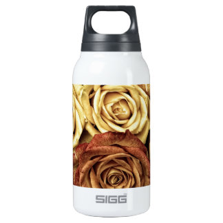 Vintage Roses For Your Rose 10 Oz Insulated SIGG Thermos Water Bottle