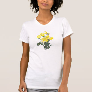 Vintage Roses Graphic Tee Shirts