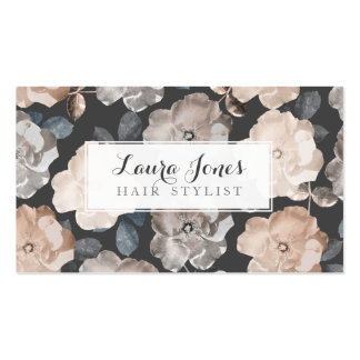 Vintage Roses Hair Stylist Appointment Cards Double-Sided Standard Business Cards (Pack Of 100)