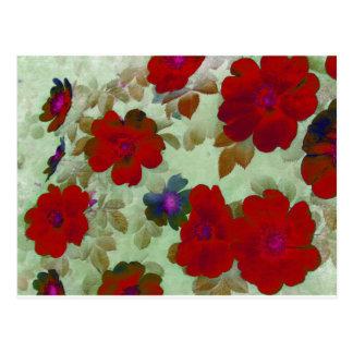 Vintage Roses Hips Post Cards