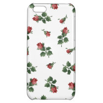 Vintage Roses iPhone 5C Glossy Finish Case