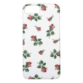 Vintage Roses iPhone 7 Case, Barely There iPhone 7 Case