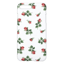 Vintage Roses iPhone 7 Plus Glossy Finish Case