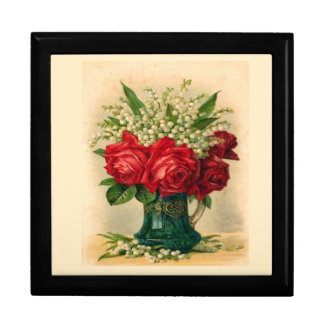 Vintage Roses & Lily of the Valley Gift Box