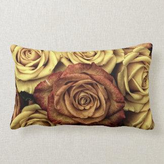 Vintage Roses Lumbar Pillow