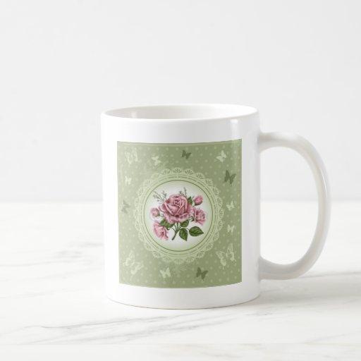 Vintage Roses Mug
