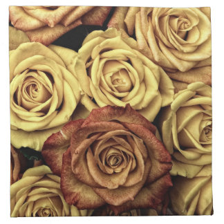 Vintage Roses Napkin