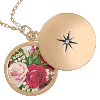Vintage Roses necklase Necklaces