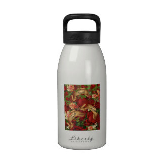Vintage Roses of Faith Water Bottle