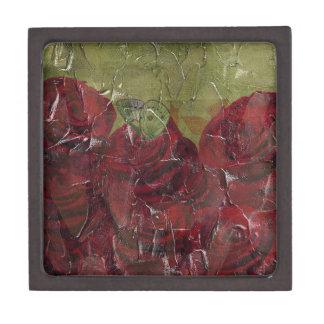 Vintage Roses Oil Grunge Gift Box