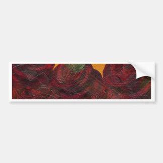 Vintage Roses Oil Painting Bumper Sticker