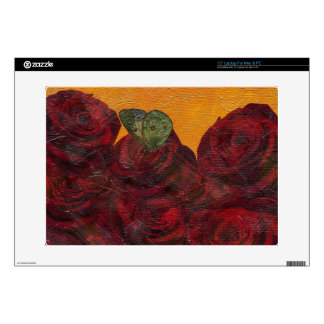 Vintage Roses Oil Painting Laptop Decal