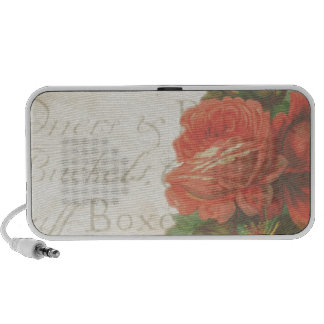Vintage Roses PC Speakers