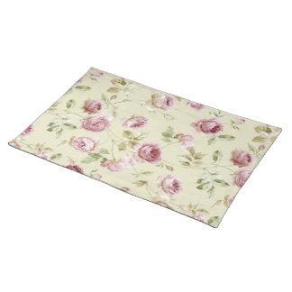 Vintage roses place mats