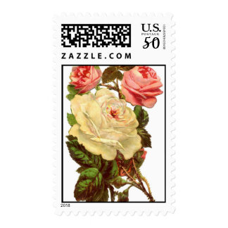 Vintage Roses Postage