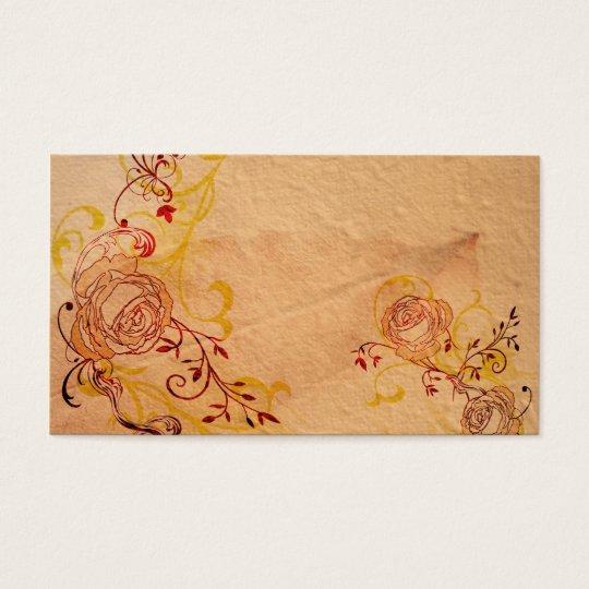 Vintage roses Profile Card