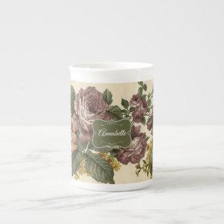 Vintage Roses Tea Cup