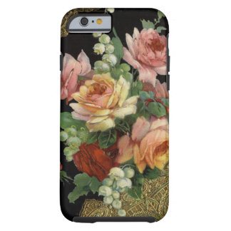 Vintage Roses Tough iPhone 6 Case