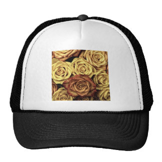 Vintage Roses Trucker Hat