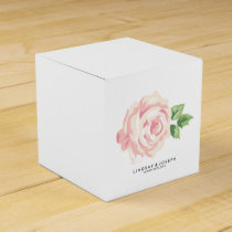 Vintage Roses Wedding Favor Box