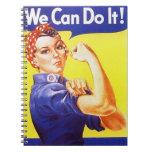 Vintage Rosie del cuaderno el remachador que podem