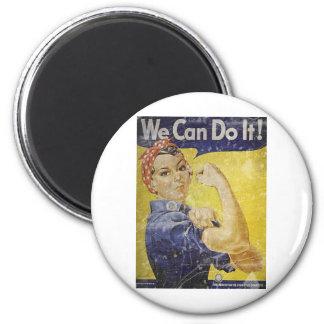 Vintage Rosie The Riveter Magnet