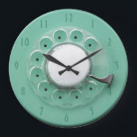 """Vintage Rotary Dial Novelty Wall Clock<br><div class=""""desc"""">Vintage Rotary Dial Novelty Wall Clock</div>"""
