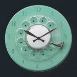 "Vintage Rotary Dial Novelty Wall Clock<br><div class=""desc"">Vintage Rotary Dial Novelty Wall Clock</div>"