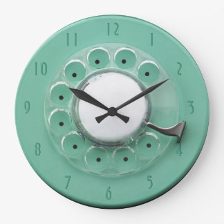 Vintage Rotary Dial Novelty Wall Clock