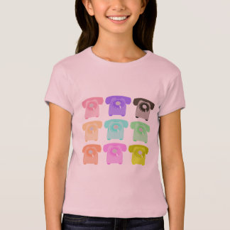 vintage rotary dial telephone T-Shirt