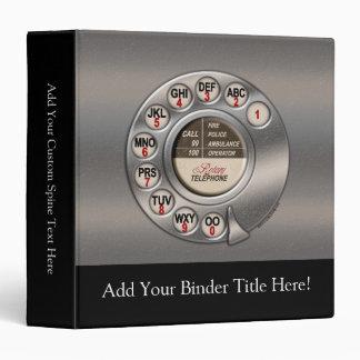 Vintage Rotary Phone Binder