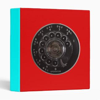 Vintage Rotary Phone Dial Binder