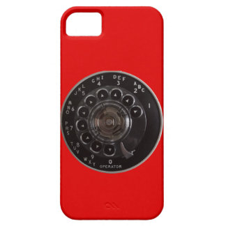 Vintage Rotary Phone iPhone 5/5S Barely There Case
