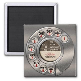 Vintage Rotary Phone Magnet