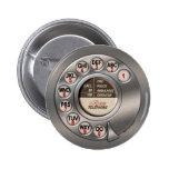 Vintage Rotary Phone Pins