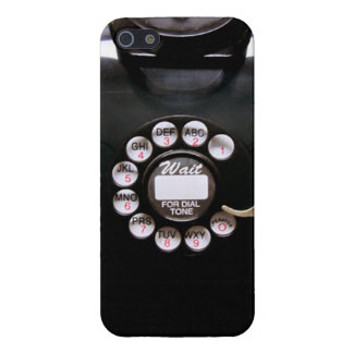 Vintage Rotary Wall Phone Cover For iPhone SE/5/5s