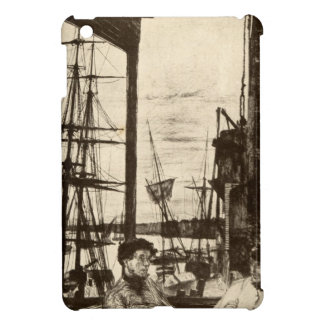 Vintage Rotherhithe Ship Dock Nautical Whistler iPad Mini Covers