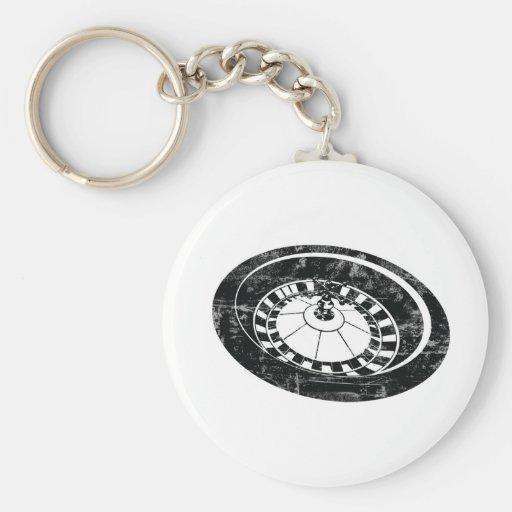 Vintage Roulette Key Chain