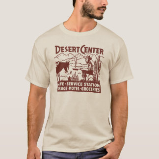 Vintage Route 66 Desert Center Old West T-Shirt