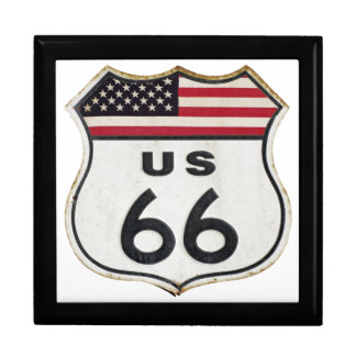 Vintage Route 66 Gift Box