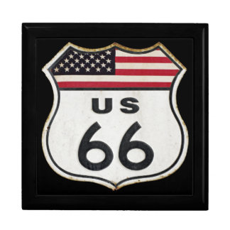 Vintage Route 66 Jewelry Box