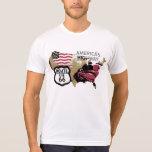 Vintage Route 66 T Shirts