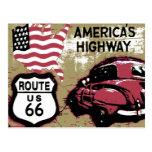 Vintage Route US 66 Postcards