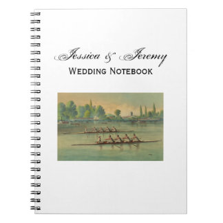 Vintage Rowers Crew Race Boat Race Notebook