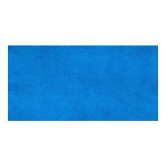 Vintage Royal Blue Paper Parchment Background Card