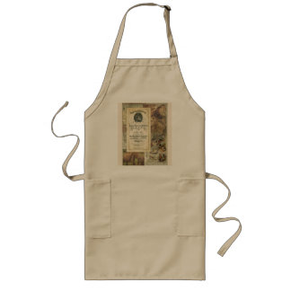 Vintage Royal Geographical Society Long Apron