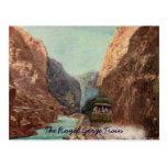 Vintage Royal Gorge Train Postcard