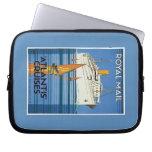 "Vintage Royal Mail :Atlantis Cruises"" Computer Sleeve"
