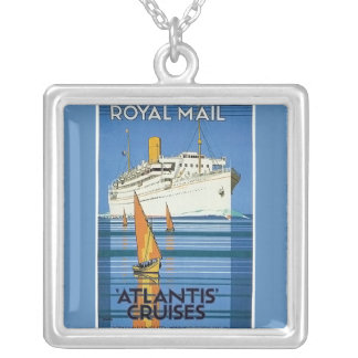 "Vintage Royal Mail :Atlantis Cruises"" Necklace"